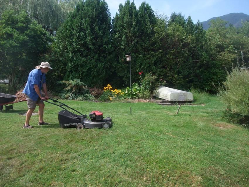 Wir Reparieren Auch Ein Holzgestell Für Die Blumen Im Garten. Es Ist Schön,  Mit Eugen Zusammen Zu Werkeln. Er Ist Freundlich, Geduldig Und Ruhig, ...